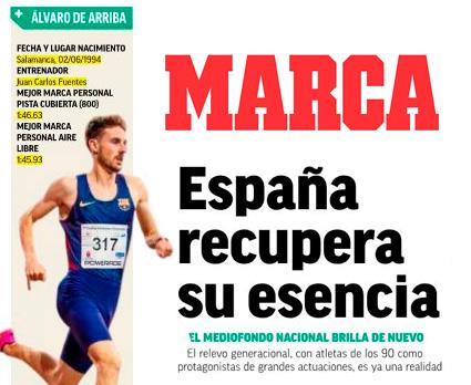 Álvaro de Arriba en el Diario Marca: España recupera su Esencia