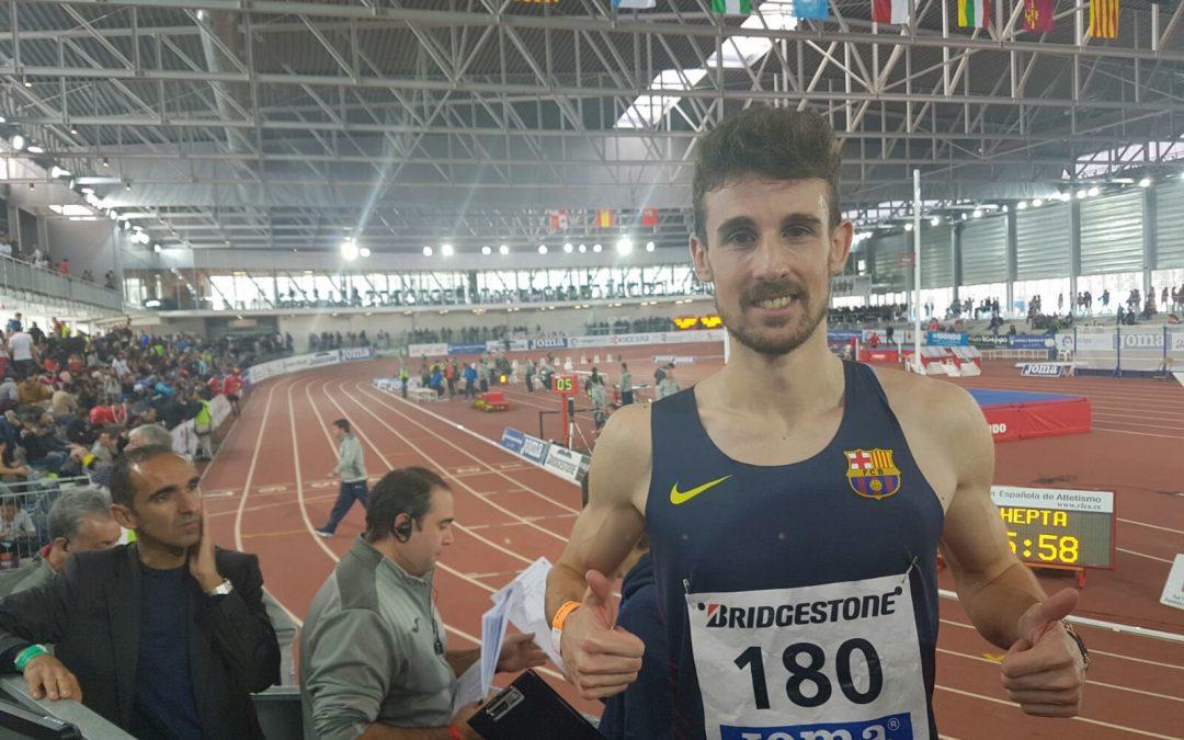 Plata para Álvaro de Arriba: «La carrera ha sido muy emocionante»